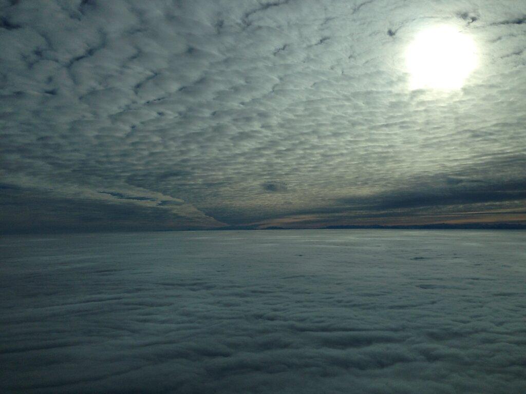 17.11.2013 München - Timisoara | Wolkenschichten