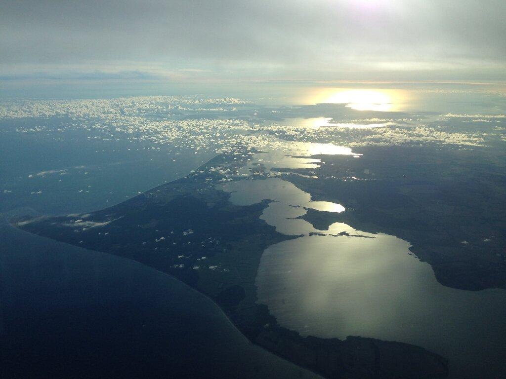 27.08.2014 München - Kopenhagen | Sonnenaufgang über der Ostsee 1