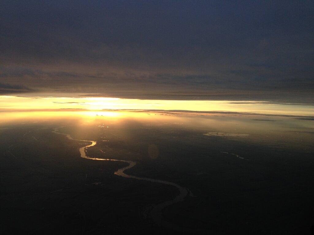 25.09.2014 München - Rotterdam | Anflug auf Rotterdam