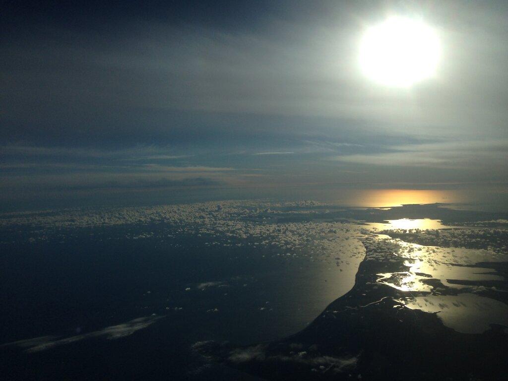27.08.2014 München - Kopenhagen | Sonnenaufgang über der Ostsee 2