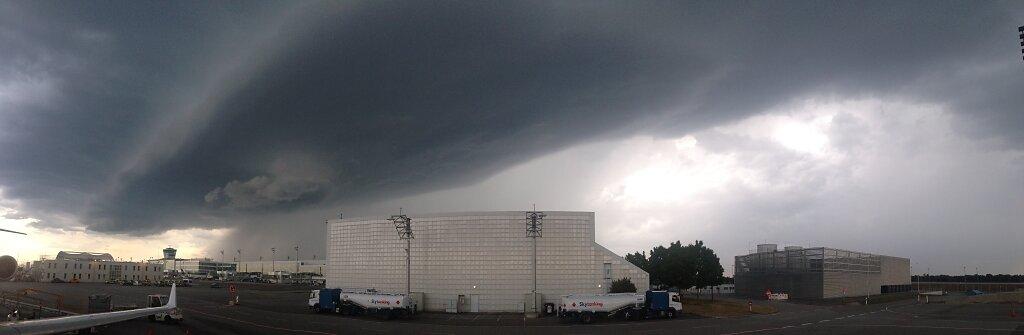 24.08.2015 München | Gewitter über München 1