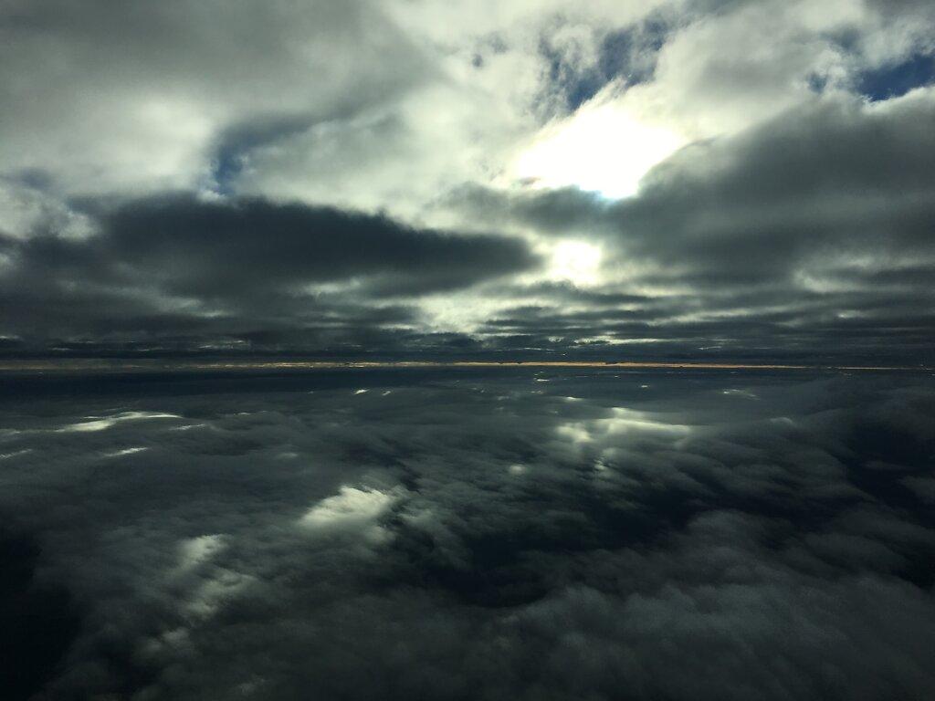 04.07.2016 Ancona - München | Zwischen Wolken