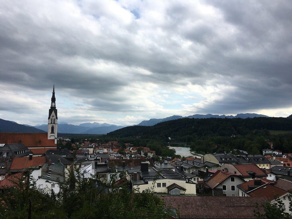 22.08.2017 Blick über Bad Tölz