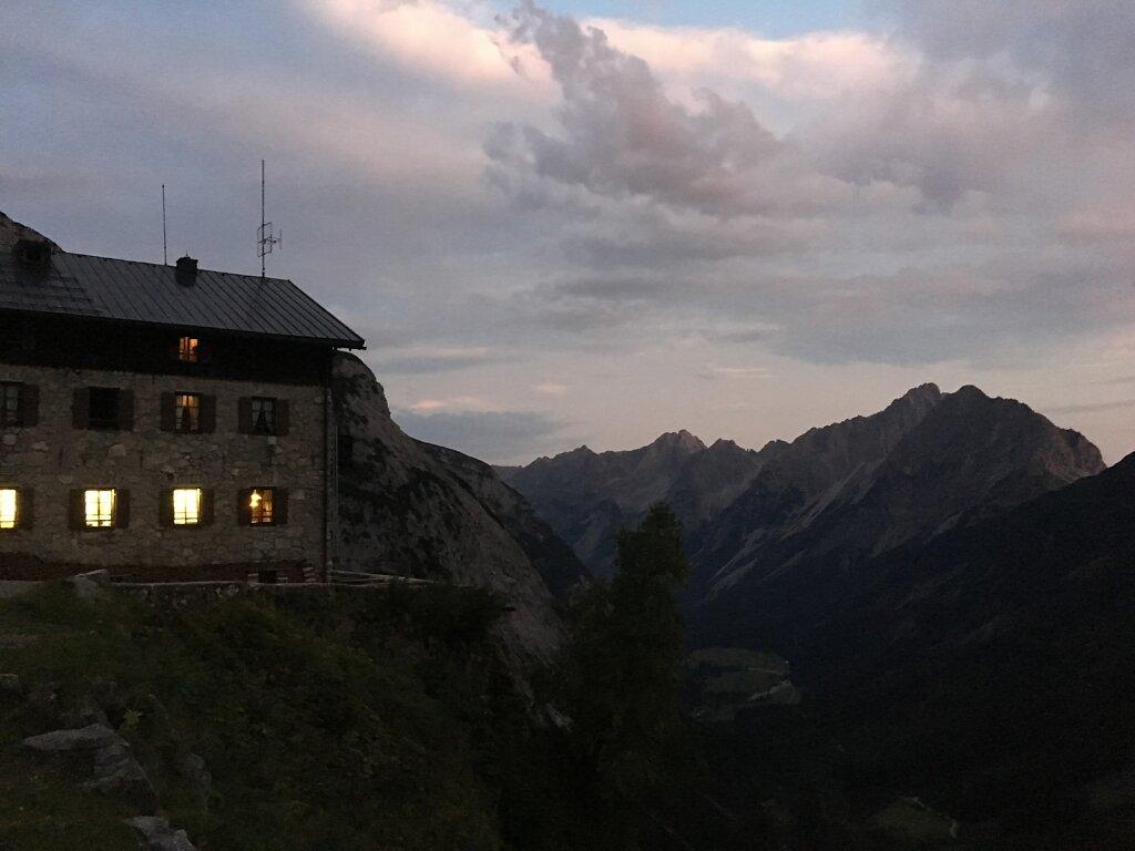 26.08.2017 Früh am Morgen am Karwendelhaus