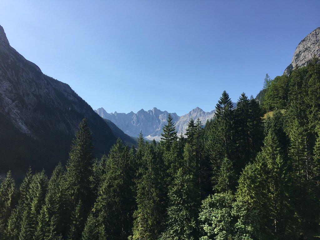 25.08.2017 Die höchsten im Karwendel vor Augen