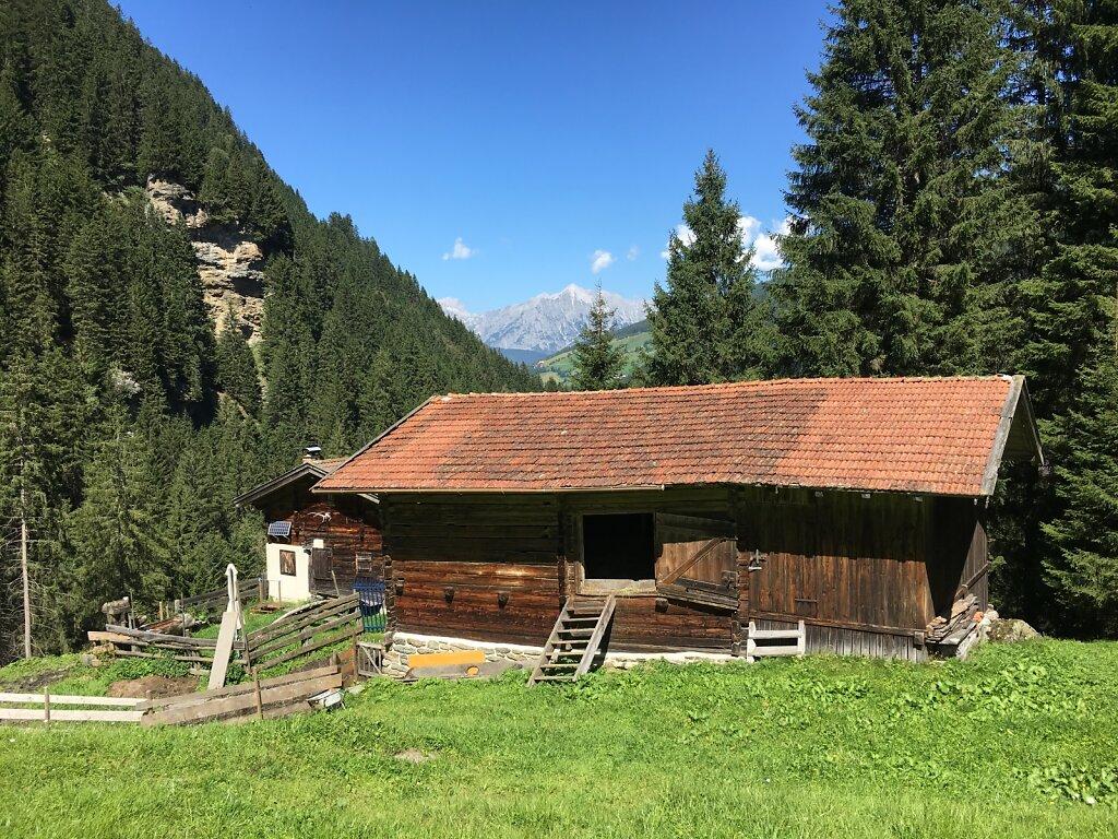 29.08.2017 Die letzte Hütte für 2017...