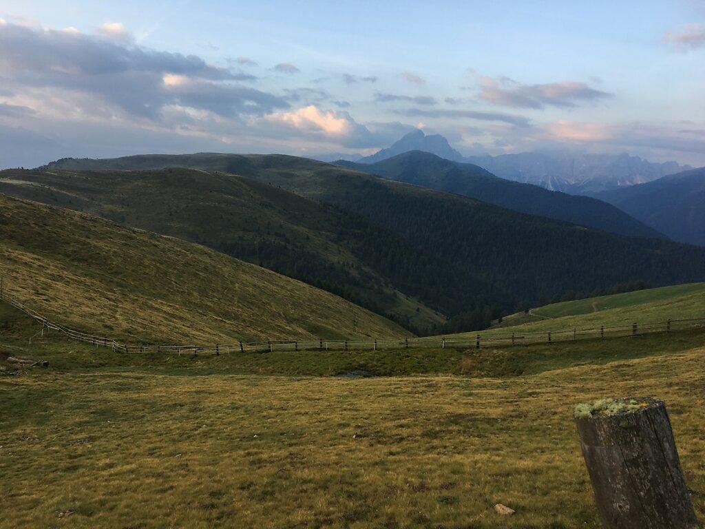 12.08.2018 Die letzten Meter Richtung Dolomiten