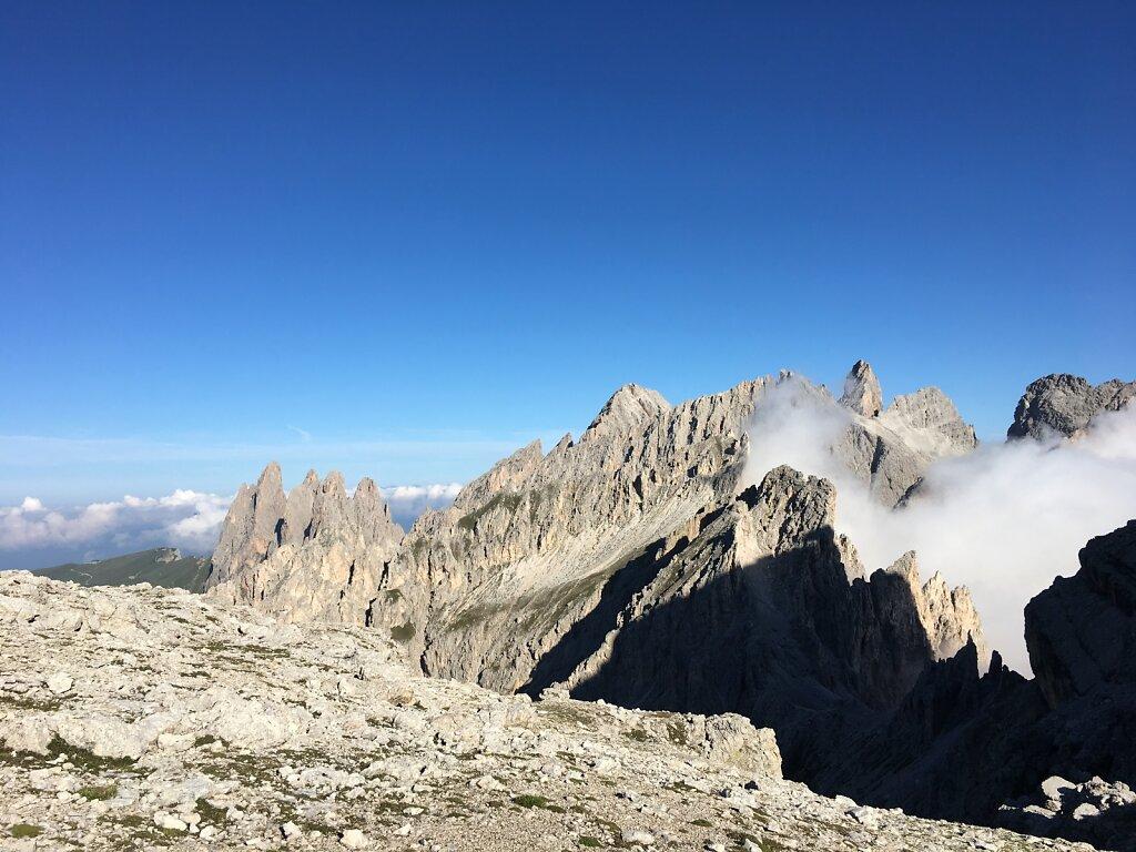 13.08.2018 Ein neuer Blick auf die Dolomiten