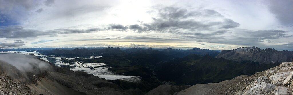 14.08.2018 Panorama vom Piz Boé