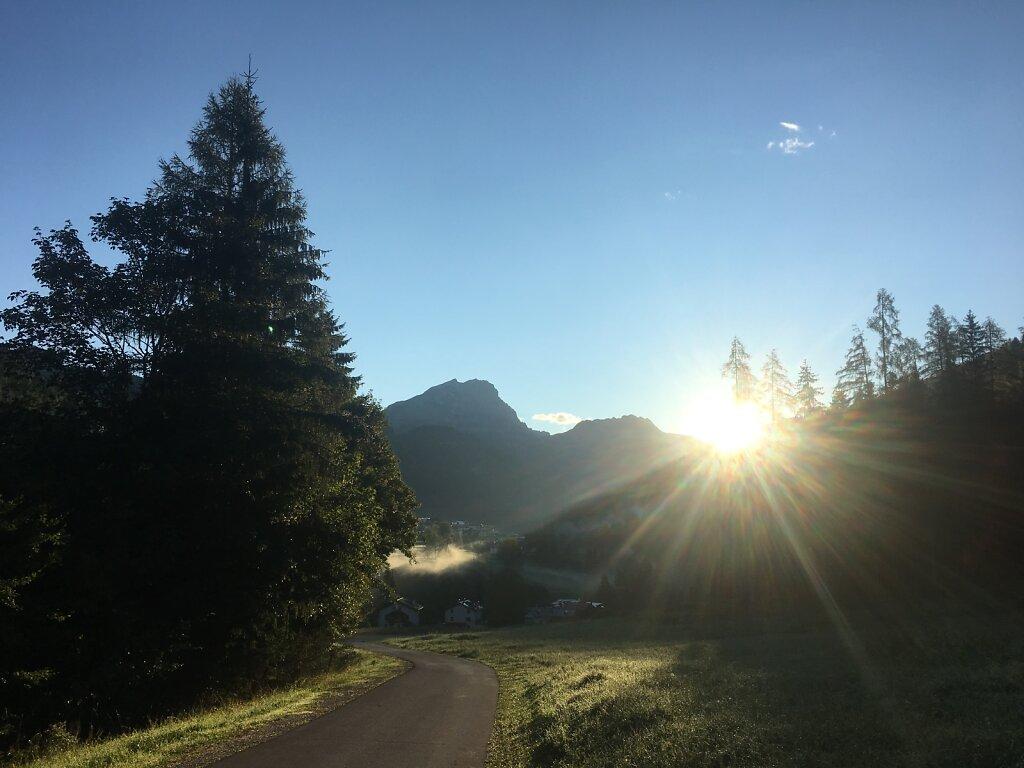 15.08.2018 Die Sonne erwacht