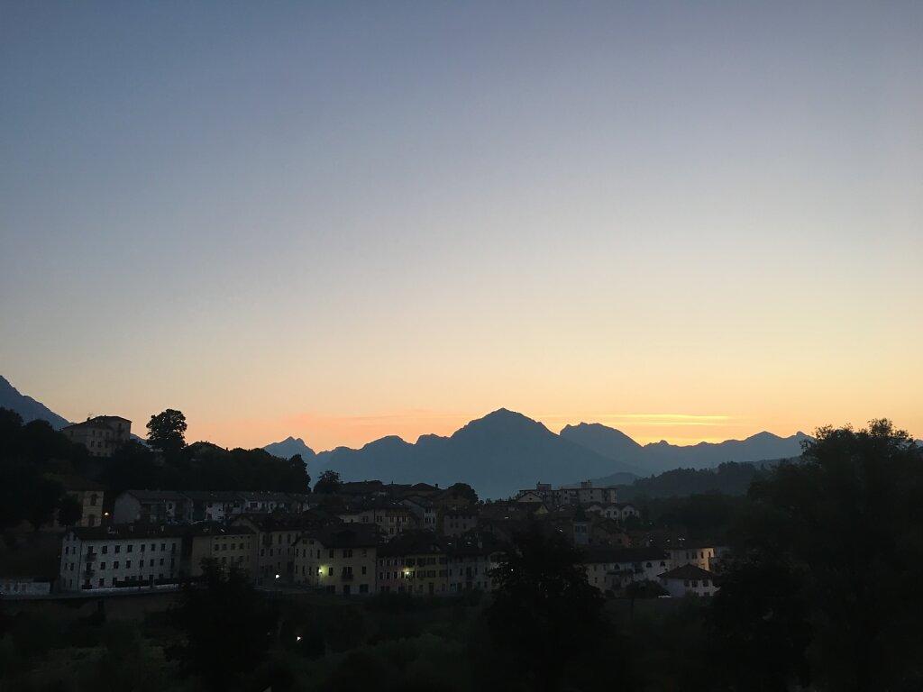 19.08.2018 Abendstimmung in Belluno