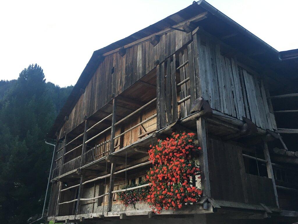 15.08.2018 Bauernhaus in Sottoguda