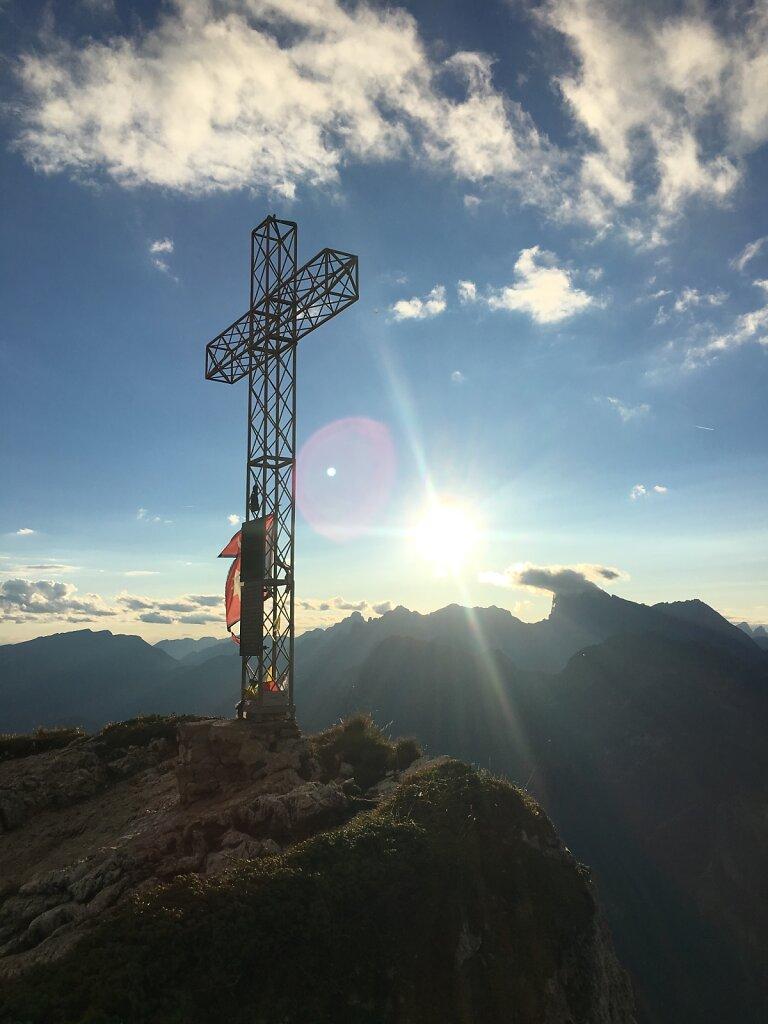 15.08.2018 Sonnenuntergang am Cime di Col Rean
