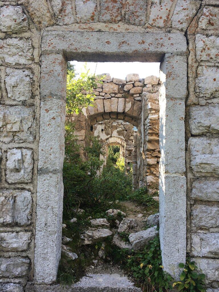 17.08.2018 Ruinen aus dem 1. Weltkrieg