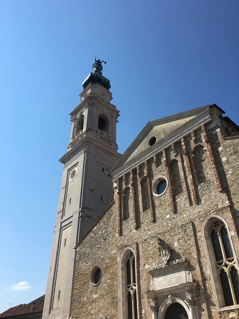 19.08.2018 Die Kirche von Belluno...