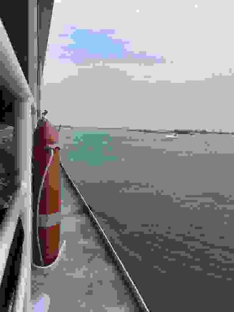 24.08.2018 Auf der Fähre nach Venedig