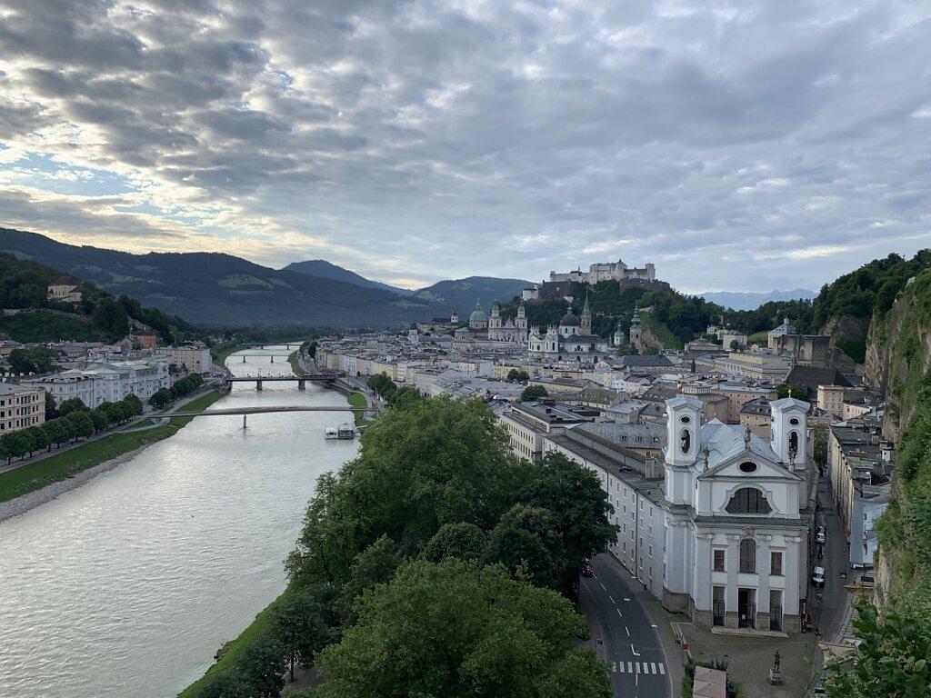 03.08.2021 Morgendliches Salzburg