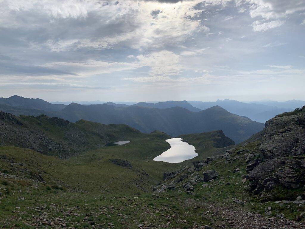16.08.2021 Nur noch zwei Seen