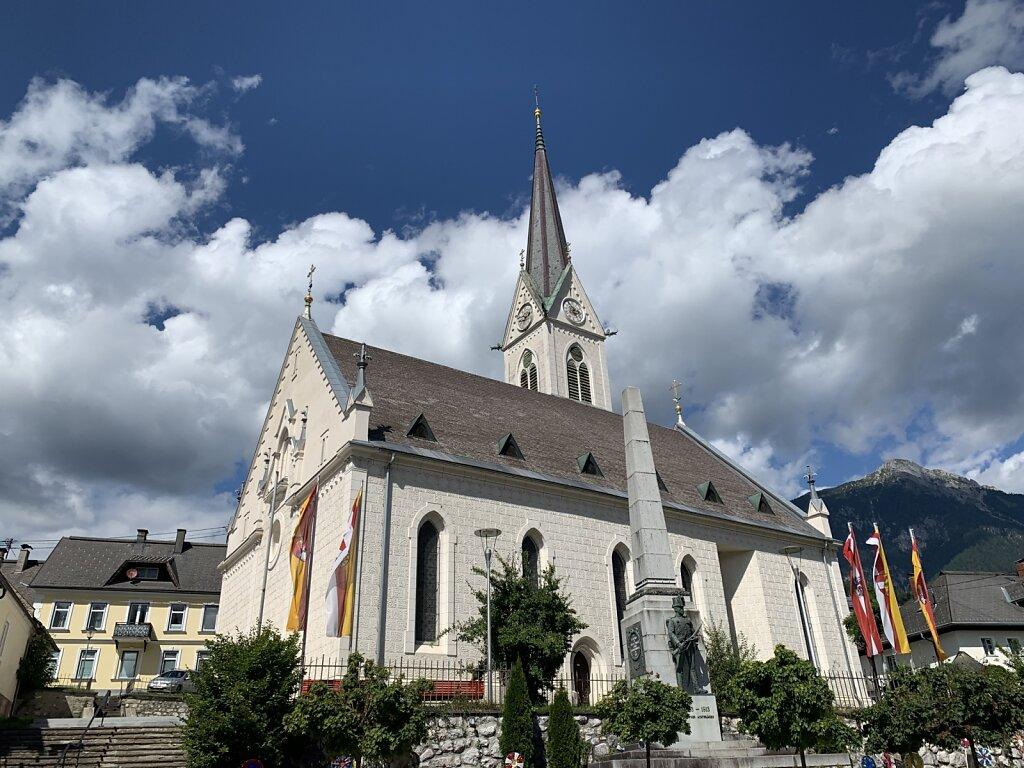 18.08.2021 Die Pfarrkirche von Hermagor