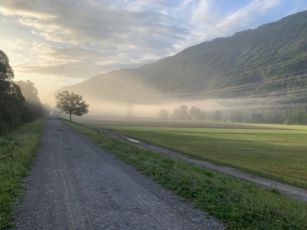 19.08.2021 Letzte Nebelfelder