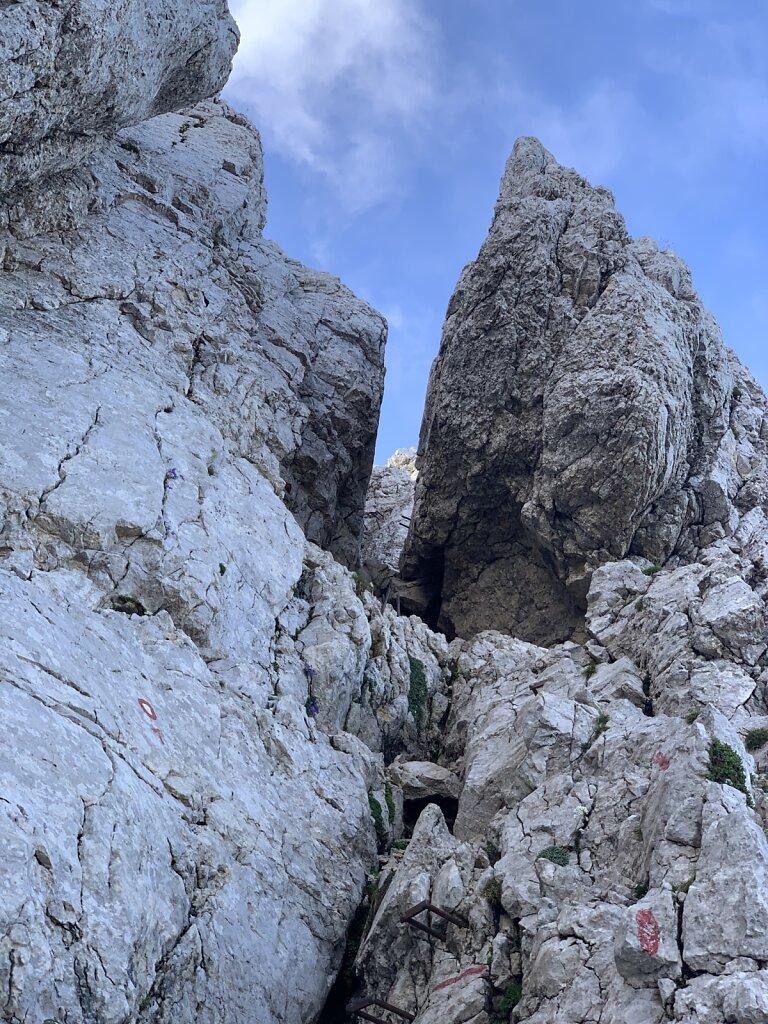 24.08.2021 Auf dem Klettersteig