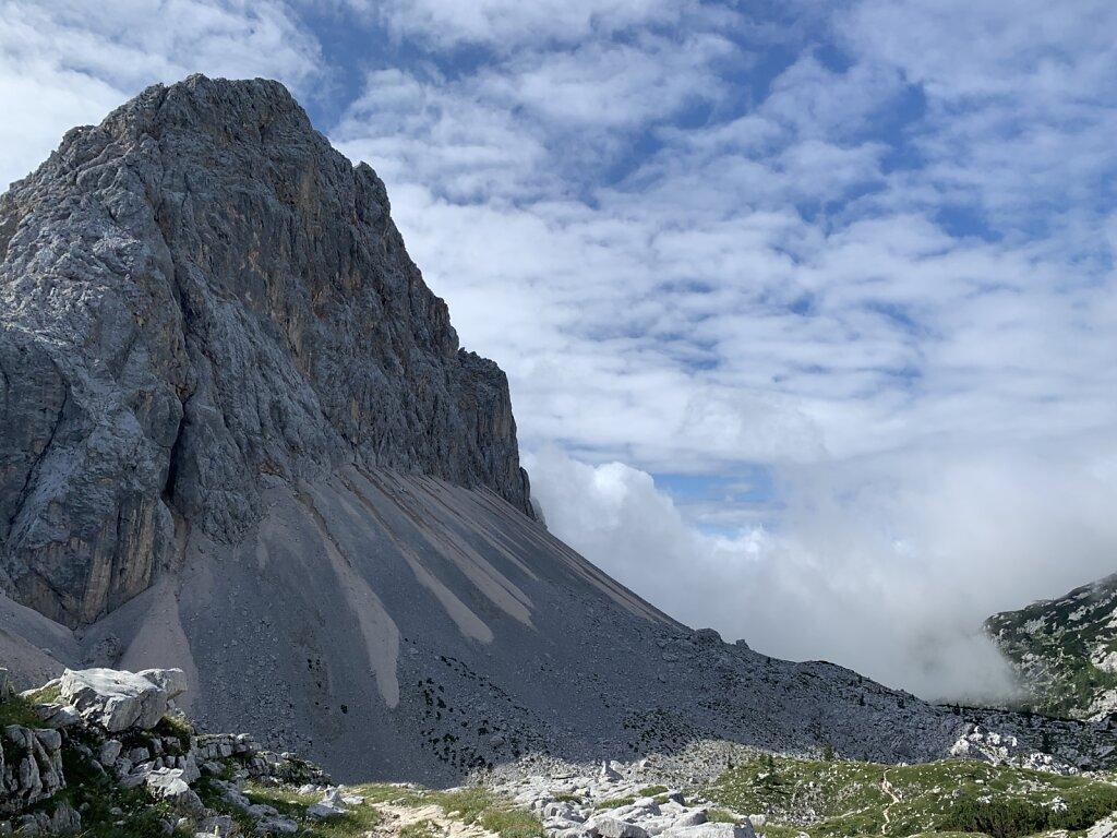 25.08.2021 Der Berg löst sich auf
