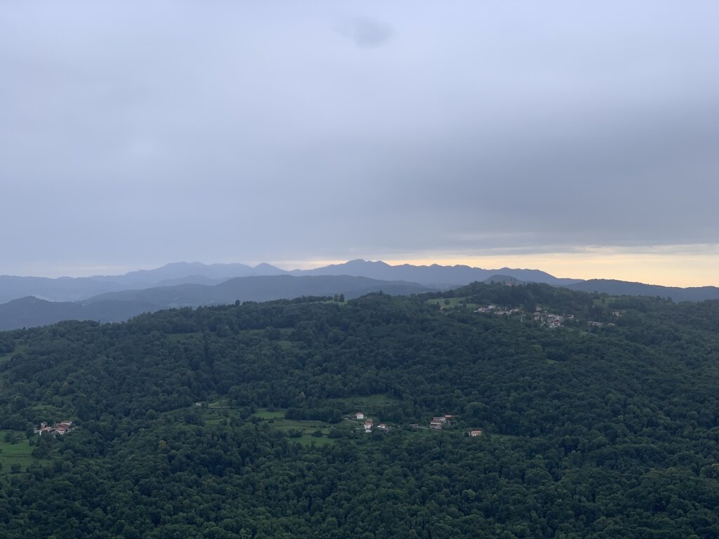28.08.2021 Die Berge werden kleiner