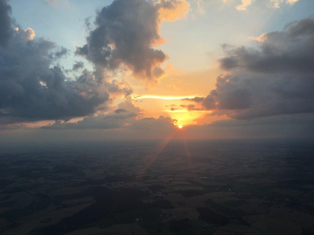 24.07.2016 Leipzig - München | Sunset